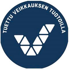 Tuettu veikkauksen tuotoilla logo